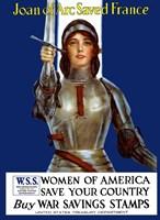 Joan of Arc - Vintage WWI Fine-Art Print