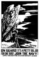On Guard - Eagle Fine-Art Print