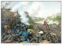 Battle of Franklin (vintage Civil War) Fine-Art Print