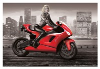 Marilyn's Motorcycle Fine-Art Print