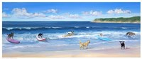Hot Dogs Surf Fine-Art Print