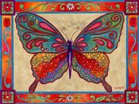 Mosaic Butterfly Fine-Art Print