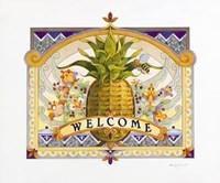 Welcome Pineapple Fine-Art Print