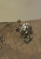 Self-Portrait of Curiosity Rover on the Surface of Mars Fine-Art Print