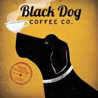 Black Dog Coffee Co. Fine-Art Print