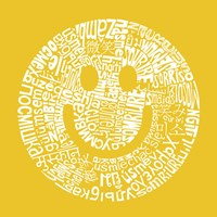 Smile (Different Languages) Fine-Art Print