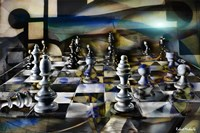 Chess Abstract Fine-Art Print