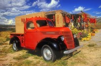 Red Chili Truck Fine-Art Print