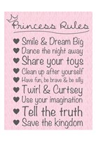 Princess Rules Soft Fine-Art Print