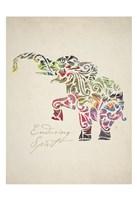 Elephant Set 02 Fine-Art Print