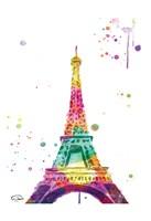 Eiffel Watercolor Fine-Art Print