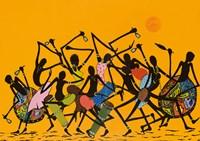 African Dance Fine-Art Print