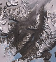 The McMurdo Dry Valleys West of McMurdo Sound, Antarctica Fine-Art Print