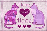 Home Sweet Home Cats II Fine-Art Print