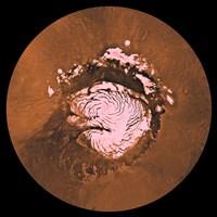 Mare Boreum Region of Mars Fine-Art Print