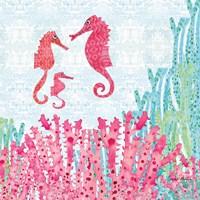 Seahorses Fine-Art Print
