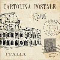Postcard Sketches IV Fine-Art Print