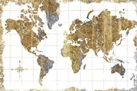 Gilded Map Fine-Art Print