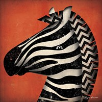 Zebra WOW Fine-Art Print