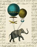 Elephant Ride I v.2 Fine-Art Print