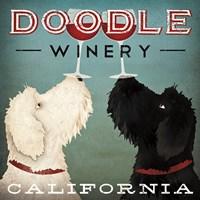 Doodle Wine Fine-Art Print