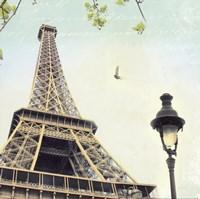 Paris Eiffel Letter Fine-Art Print