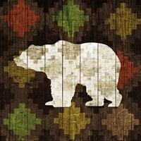 Southwest Lodge - Bear Fine-Art Print