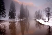 Valley mist, Yosemite, California Fine-Art Print