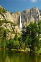 Upper Yosemite Falls, Merced River, Yosemite NP, California Fine-Art Print