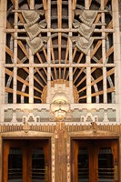 Detail of the Marine Building, Vancouver, British Columbia, Canada Fine-Art Print