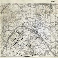 All About Paris III Fine-Art Print