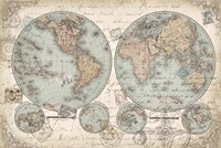 World Hemispheres Fine-Art Print