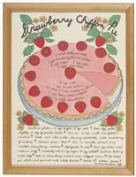 A Strawberry Chiffon Pie Fine-Art Print