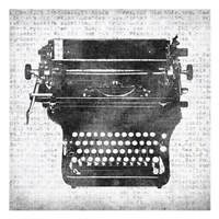 Typewriter 2 Fine-Art Print
