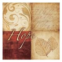 Red Gold Hope Fine-Art Print