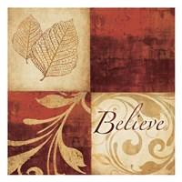 Red Gold Believe Fine-Art Print