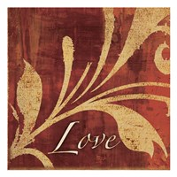 Red Gold Love Fine-Art Print