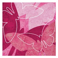 Butterflys Pink Fine-Art Print