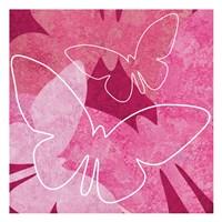Butterflys Pink 1 Fine-Art Print