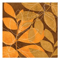 Orange Leaves 2 Fine-Art Print