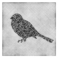 Brocade Bird 1 Fine-Art Print