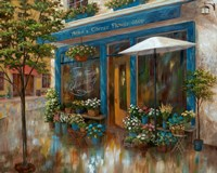 Anna's Corner Flower Shop Fine-Art Print