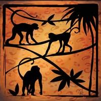 Safari Silhouette II Fine-Art Print