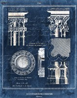 Vintage Blueprints II Fine-Art Print
