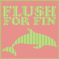 Flushfor Fin Fine-Art Print