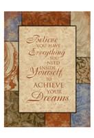 Achieve Your Dreams Fine-Art Print