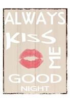 Always Kiss Fine-Art Print
