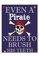 Pirate Must Brush Fine-Art Print