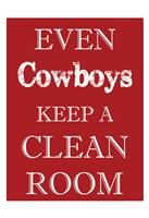 Cowboys Clean Room Fine-Art Print