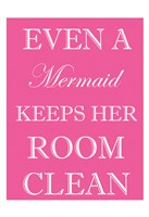 Mermaid Clean Room Fine-Art Print